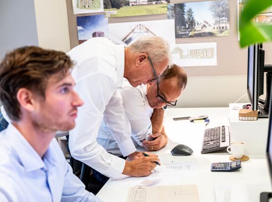 Over ons van Egmond, architecten