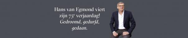 Hans Van Egmond Viert Zijn 75e Verjaardag!